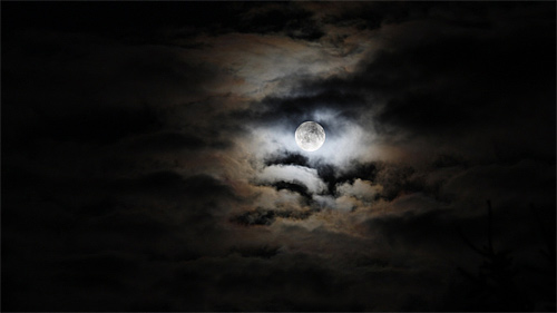 awan malam